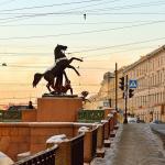Фотообои Санкт-Петербург, Аничков мост