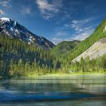 Фотообои пейзаж с горами