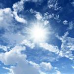 Фотообои с видом неба
