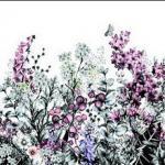 Фиолетовые цветы 1069