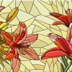 Лилии кувшинки № 1626