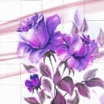 Фиолетовые цветы 4916