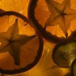 Цветы и фрукты холст 33