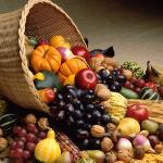Цветы и фрукты холст 34